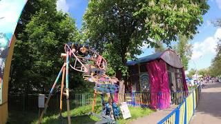 Аттракционы Парк Глобы по минуте 2 часть Днепр Днепропетровск