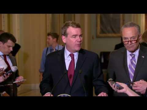 """Sen. Michael Bennet and Senate Democrats: """"No Hearing, No Vote"""""""
