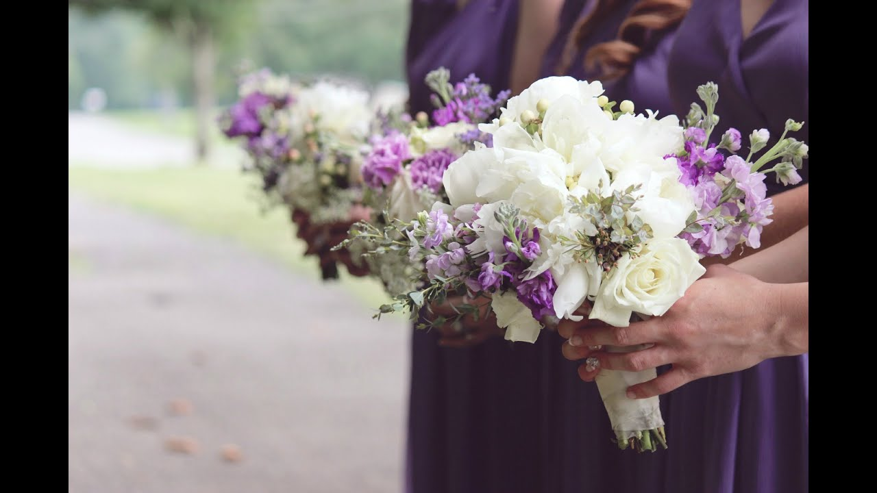 DIY Bridal Bouquet: How to Make a Gorgeous Bouquet - YouTube