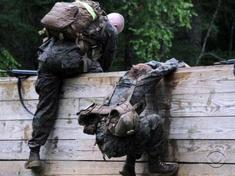 Marines give women second chance at Infantry Officer Course