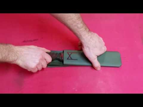 how to make a pvc machete sheath