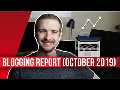 Blogging Report (October 2019) – Organic Traffic Is Up 71.07%!