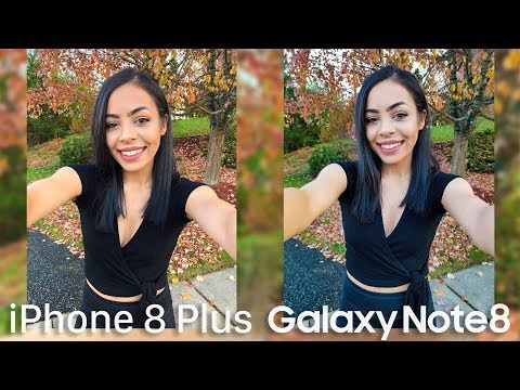iPhone 8 Plus Camera vs Samsung Galaxy Note 8!