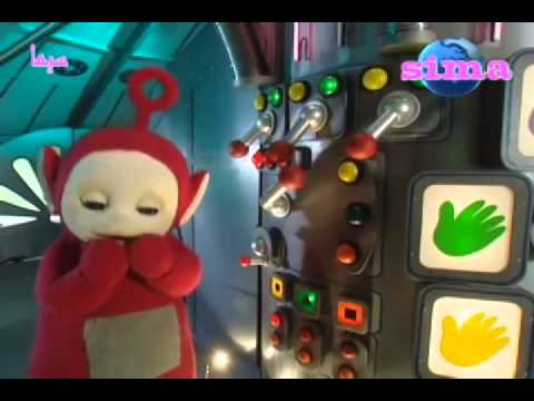 teletubbies po plays with the controls youtube