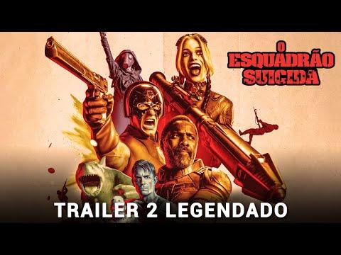 O Esquadrão Suicida • Trailer 2 Legendado