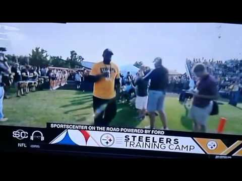 Pittsburgh STEELERS live Training Camp Aug.4th 2017 live on ESPN