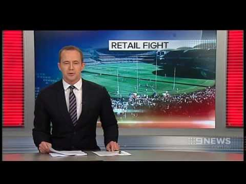 Retail Fight | 9 News Adelaide