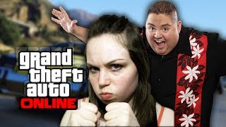 Trolling Girl Gamer on GTA 5!