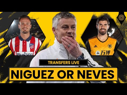 Saul Niguez or Ruben Neves! | Man United Transfers LIVE