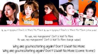 [Color Coded/Han/Eng/Rom] Red Velvet - Don