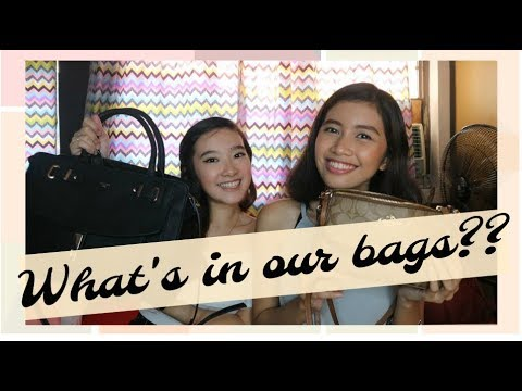What's Inside Our Bags During Events?! (ft. CAMIE ANDREA)   Philippines