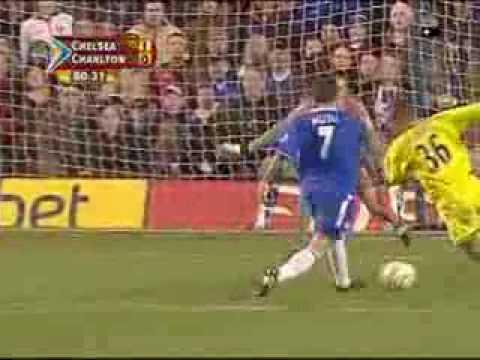 CHELSEA VS Charlton Athletic -Adrian Mutu-skills