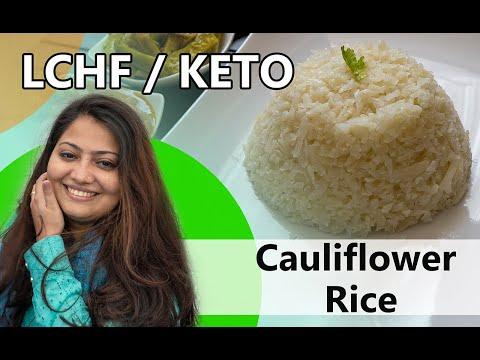 ഇത്രക്കും ഈസി ആയിരുന്നോ ഈ റൈസ് Recipe? || Low Carb High Fiber Cauliflower Rice Recipe || KETO | LCHF