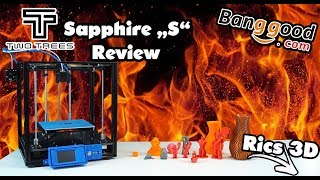 "Two Trees Sapphire ""S"" COREXY 3D Drucker // Review \\ Rics_3D"