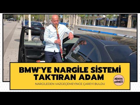 BMW'YE NARGİLE SİSTEMİ TAKTIRAN GURBETÇİ! (Nargilesiz sürmem abi)