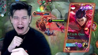 Review Skin Chou S.T.U.N., Auto Gw Montagein Semua Boss! - Mobile Legends
