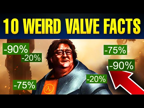 10 Weird Facts You Didn't Know About Valve