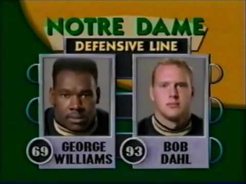 1990 #4 Michigan at #1 Notre Dame 1 of 1