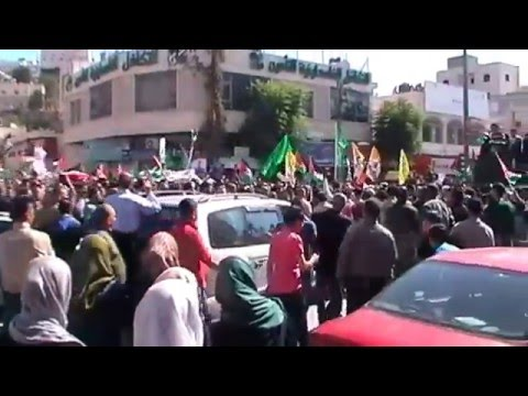 A LETTER FROM PALESTINE - FUNERAL OF FIVE MARTYRS 31 OCTOBER 2015