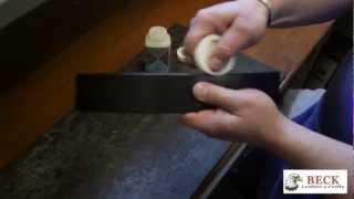 Leather Craft Training #7 - Finishing Leather - Basic Skills HD