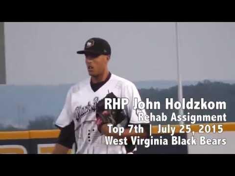 Pirate's RHP John Holdzkom Rehab 7-26