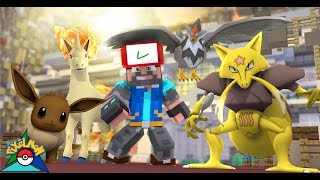 RAPIDASH + STARAPTOR + EEVEE + KADABRA!!!! [#12] | Minecraft: Pokémon Trinity [Pixelmon]