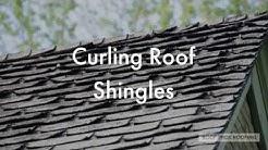 Curling Roof Shingles