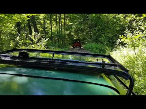 2017 New Hampshire vintage willys jeep trailride