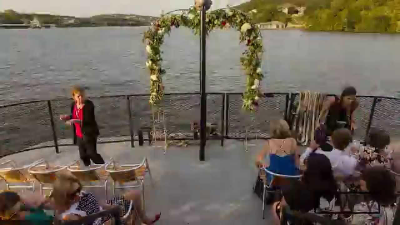 Lake Austin Riverboats Wedding Timelapse