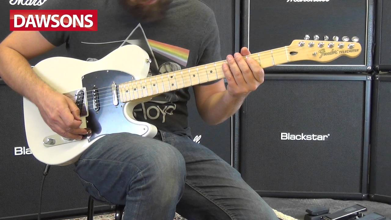Fender 2016 Deluxe Nashville Telecaster Mn Review Youtube Re 5way Switch With A Two Pickup Tele Guitar Forum