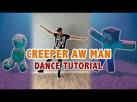 How To Do The Creeper Aw Man Dance by Surreal Entertainment | Step By Step Dance Tutorial