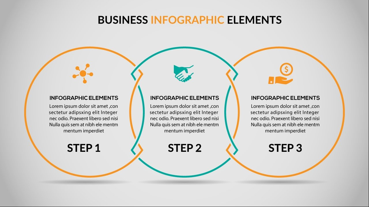 Business Infographics Vector Illustrator Cc Tutorial Youtube