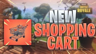"🔴  NEW ""SHOPPING CART"" + REFUND SKIN in FORTNITE TONIGHT! ~ TOP PS4 SOLO PLAYER ~ 1421 SOLO WINS 🏆"