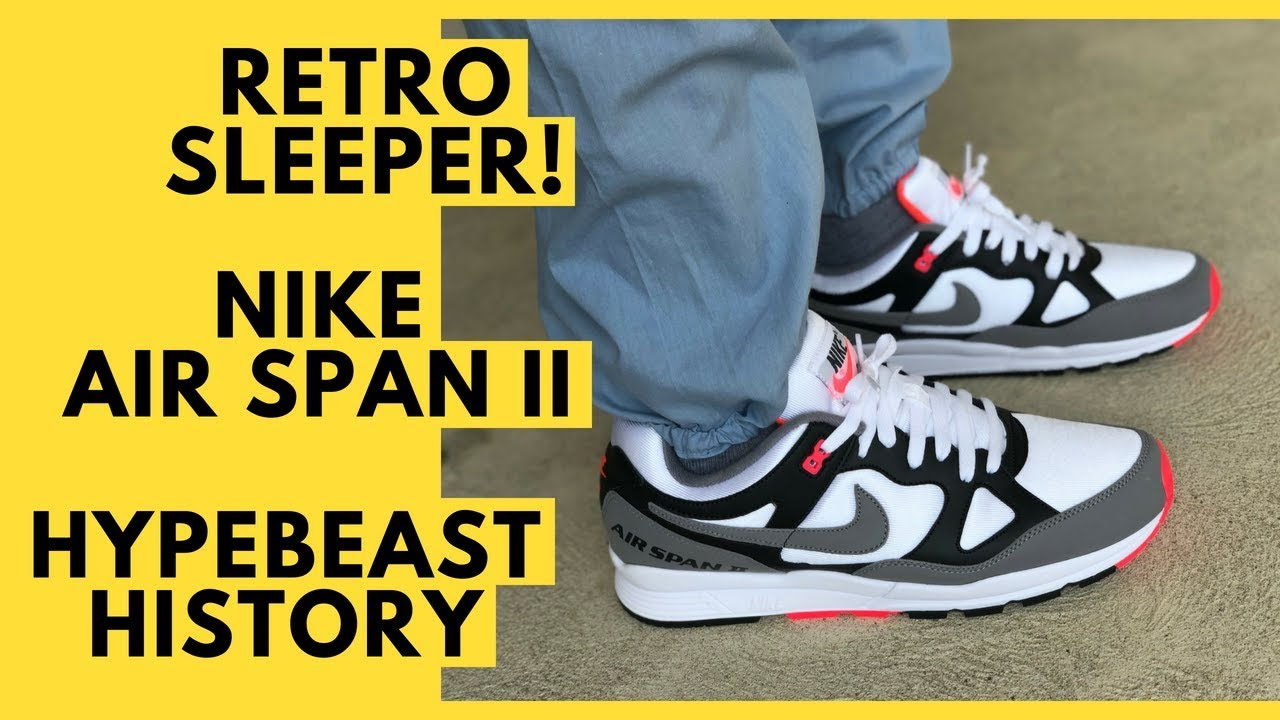Nike Air Span II Infrared History, Unboxing, Review, On Feet, and Sizing and Fit