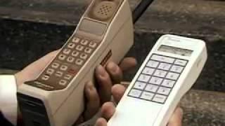 Telefonos moviles (ladrillos) de 1986