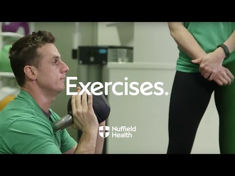 How to Perform a Kettlebell Squat | Nuffield Health