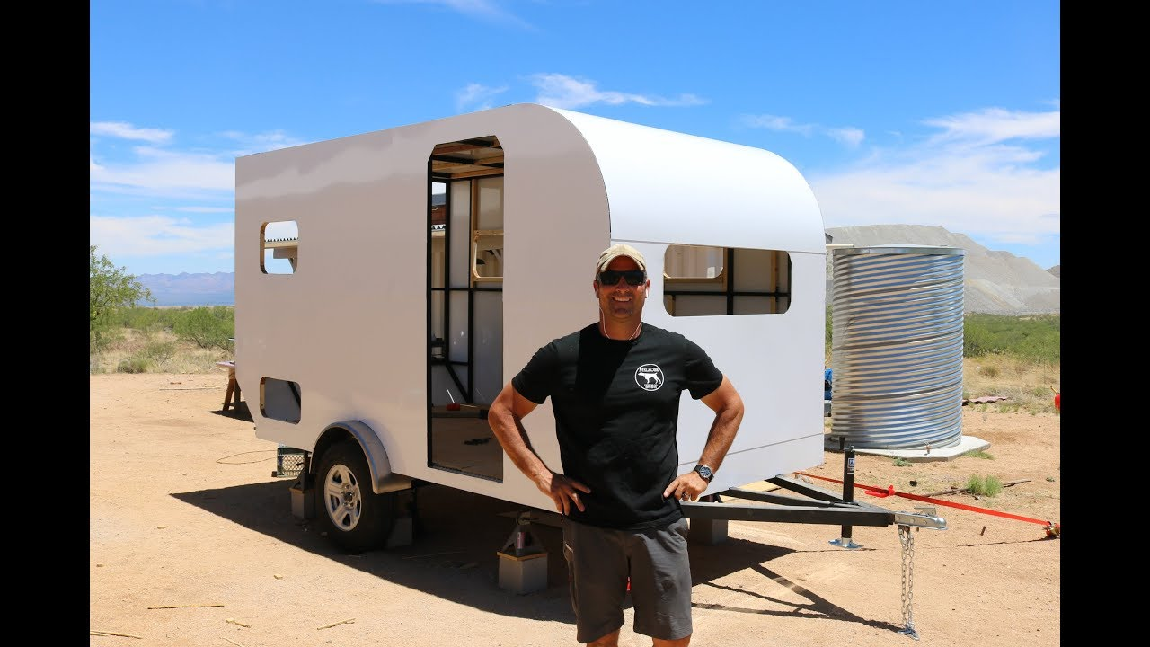 How To Build A Diy Travel Trailer Aluminum Exterior And