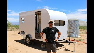 How to Build a DIY Travel Trailer - Aluminum Exterior and more (Part 2)
