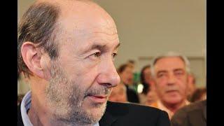 Fallece el exvicepresidente del Gobierno español Alfredo Pérez Rubalcaba a consecuencia del ictus