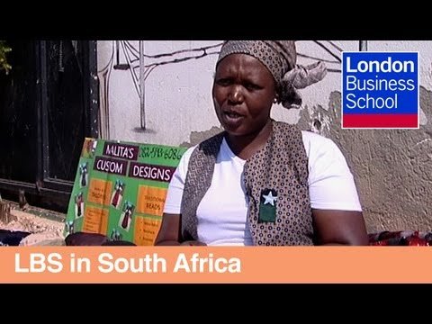Malita's story: working with micro-entrepreneurs in South Africa | London Business School