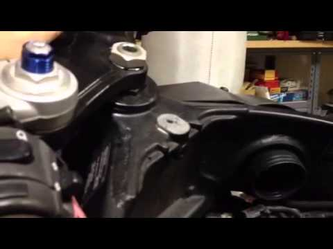 Triumph Daytona  throttle body problem