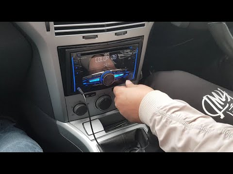 How To Install Aftermarket Headunit In Vauxhall Astra H MK5 2008