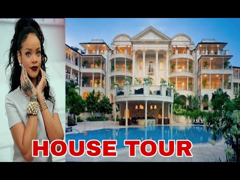 Rihanna 39 s new 22 million barbados house tour inside and for Video home tours
