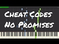Cheat Codes No Promises Piano Tutorial Ft Demi Lovato mp3