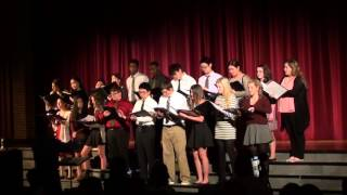 2015 Lake Catholic Fall Concert - Beginning Concert - 5 - Standing in the Light of Love