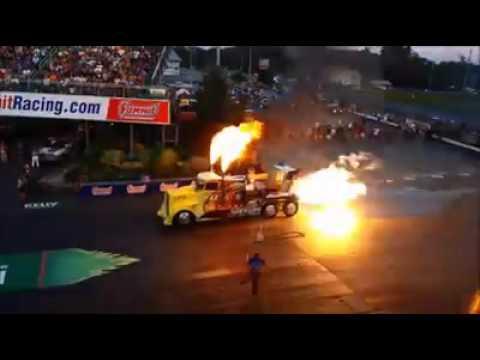 Le camion le plus rapide au monde !!!