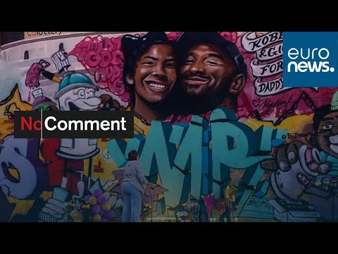 شاهد: جدارية عملاقة تكريما لأسطورة السلة الراحل كوبي براينت…  - نشر قبل 27 دقيقة