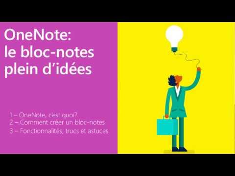 OneNote: présentation générale