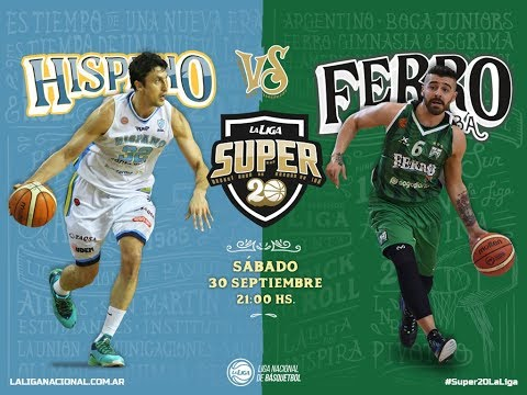 Liga Nacional: Hispano vs. Ferro | #Super20enTyC