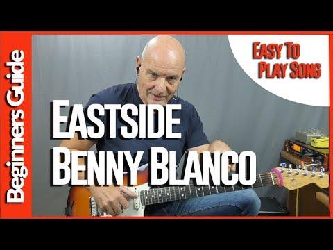 Eastside By Benny Blanco ft Halsey & Khalid - Easy Guitar Lesson Tutorial